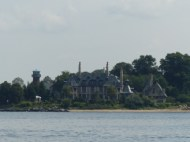 Sands Point Light + mansion
